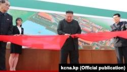 Новые кадры с Ким Чен Ыном
