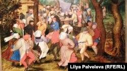 """Дупло на картине Питера Брейгеля Младашего """"Крестьянский свадебный танец"""" - это эротический символ"""