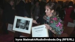 Дагестанська юристка Сапіят Магомедова, Прага, 3 березня 2014 року