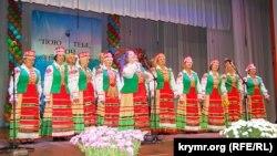 Ансамбль Белорусского национально-культурного общества Севастополя