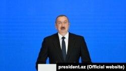 Претседателот Илхам Алијев