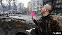 Дзень сьвятога Валянціна на Майдане