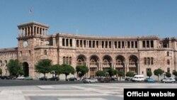 Здание правительства Армении в Ереване
