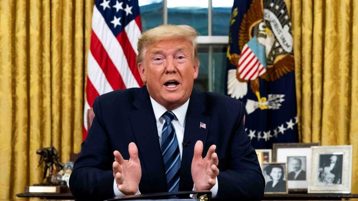 Трамп объявил чрезвычайное положение в США из-за коронавирус