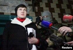 Надія Савченко в окупованій Макіївці