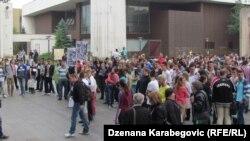 Protesti u Zenici