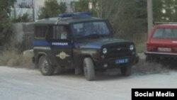 Бакчасарайда Русия полициясе