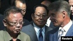 Лидер Северной Кореи Ким Чен Ир, 21 августа 2011