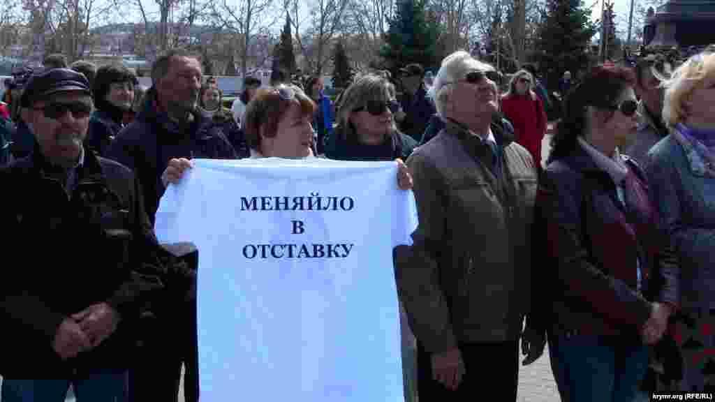За словами жінки, можливість поставити запитання президенту Росії була для неї «останньою надією». Вона планувала попросити Путіна «втрутитися в беззаконня, яке творить місцева влада».