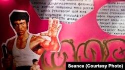 Выставка, посвященная видеосалонам эпохи перестройки