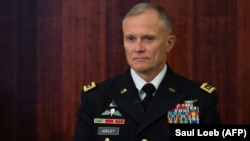 "U.S Lieutenant General Robert Ashley has said that Moscow was ""probably not adhering"" to a nuclear-testing moratorium, prompting an angry response from Russia. (file photo)"