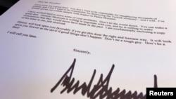 Автентичността на писмото на Тръмп до Ердоган беше потвърдена от Белия дом