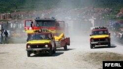 Противпожарната единица во Битола.