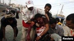 له جنورۍ څخه د ولسمشر علي عبدالله صالح د واکمنۍ پر ضد را پیل شوو احتجاجونو یمن لړزولی دی.