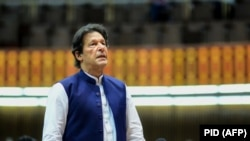 Pakistani Prime Minister Imran Khan (file photo)
