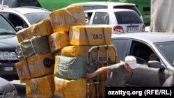 Торговый район в Алматы, называемый в народе «барахолка».