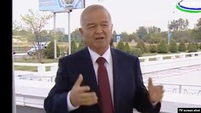 Uzbek President Islam Karimov (file photo)
