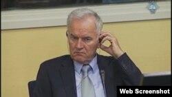 Ratko Mladić na suđenju u Hagu, 21. kolovoz 2012.