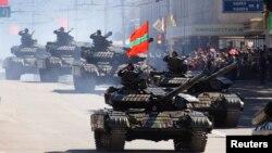 La parada militară de la Tiraspol