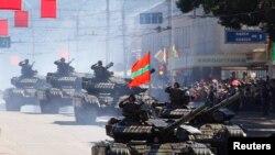 Военный парад в Тирасполе