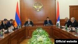 Совместное заседание правительств Армении и Нагорного Карабаха, Степанакерт, 5 ноября 2016 года.