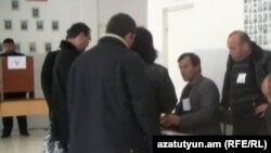 ՏԻՄ ընտրություններն Իջեւանում: 13-ը նոյեմբերի, 2011թ.