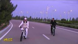Türkmen prezidenti tigiriň ýadygärliginiň şekilini tassyklady we ýörişine rugsat berdi