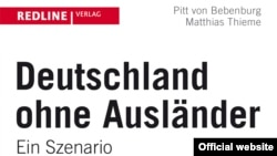 """Фрагмент обложки книги Маттиаса Тиме и Питта фон Бебенбурга """"Германия без иностранцев"""""""