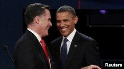 ԱՄՆ նախագահի թեկնածուներ Միթ Ռոմնի եւ Բարաք Օբամա
