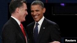 Predsjednički kandidati Mitt Romney i Barack Obama
