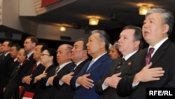 """Ак жол"" партиясынын курултайы, 1-май, 2009-жыл."