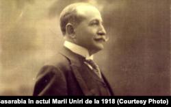 Take Ionescu, ministrul de Externe al României (Sursă: I. Țurcanu, M. Papuc, Basarabia în actul Marii Uniri de la 1918)