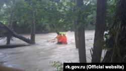 Наводнение в Бахчисарайском районе, 4 июля 2021 года