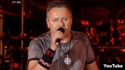 Marko Perkovic Thompson, a controversial Croatian nationalist singer, is banned from performing in a number of countries.