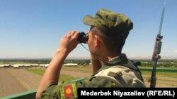 Қирғизистонлик чегарачи (иллюстратив сурат).