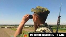 Пограничник Кыргызстана. Иллюстративное фото.