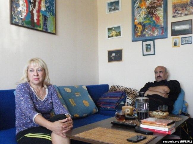 Ірына Фрэнкель і Тэймур Пагасьян