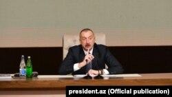 Азербайжандын президенти Илхам Алиев.