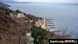 Малый Маяк, Южный берег Крыма, декабрь 2020 год
