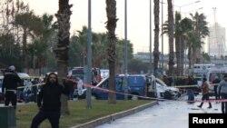 Місце вибуху в турецькому місті Ізмірі, 5 січня 2017 року