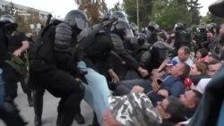 Відео розгону антиурядового мітингу у Кишиневі у День незалежності Молдови