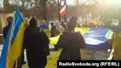 Акція на підтримку України, Прага, 8 лютого 2015 року