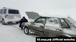 Последствия непогоды в Крыму, 19 февраля 2021 года