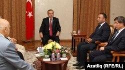 Эрдоган кырымтатарлар белән очраша