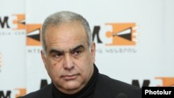 Armenia - Opposition leader Raffi Hovannisian gives a press conference in Yerevan, 21Mar2014.