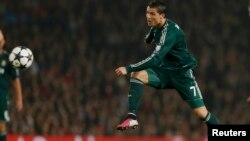 Роналду эски клубу - Манчестерге гол киргизгенден кийин адаттагыдай кубанган жок. 5-март, 2013-жыл