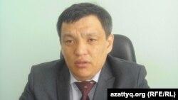Марлен Баймагамбетов, заместитель начальника управления сельского хозяйства Актюбинской области. Актобе, апрель 2013 года.