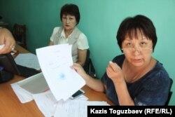 Рабига Кучкарова, заведующая учебной частью школы поселка имени Туймебаева Алматинской области.