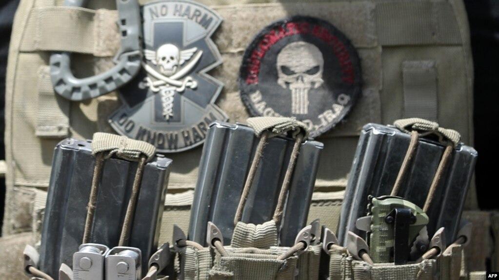 یونیفورم یکی از اعضای نیروهای ویژه ضدتروریسم عراق