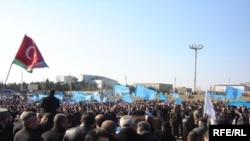 Müsavat Partiyasının etiraz aksiyası, 18 mart 2007
